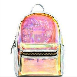 Handbags - Clear Transparent Mini Backpack